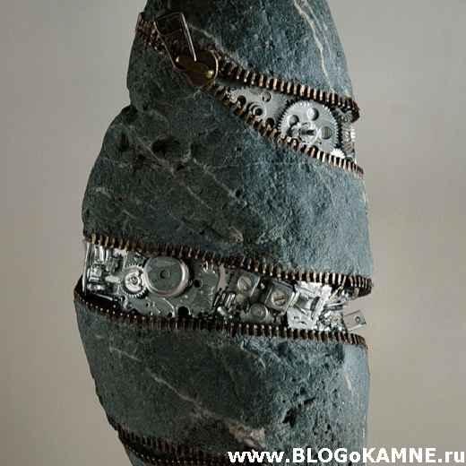 фигурки животных из камня
