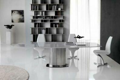 современные мраморные обеденные столы
