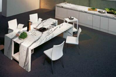 обеденный столик из Statuario