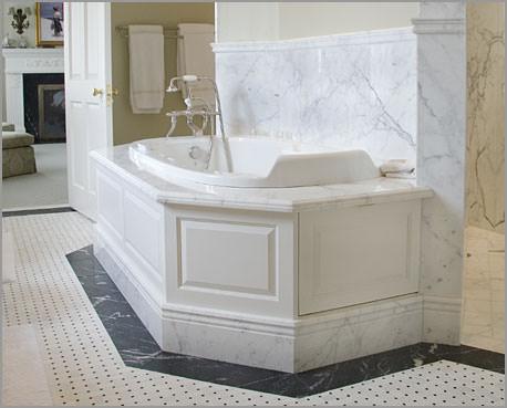 ванна из мрамра Carrara