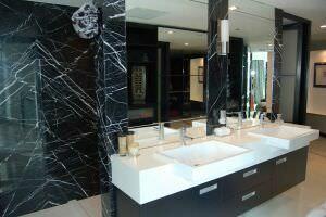 ванна из мрамор Nero Marquina
