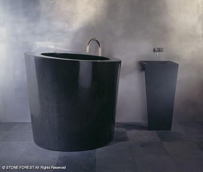 ванна из гранита Absolute Black