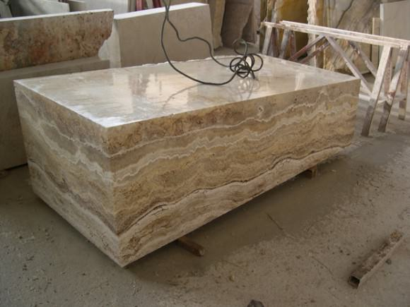 блок Travertine Noce