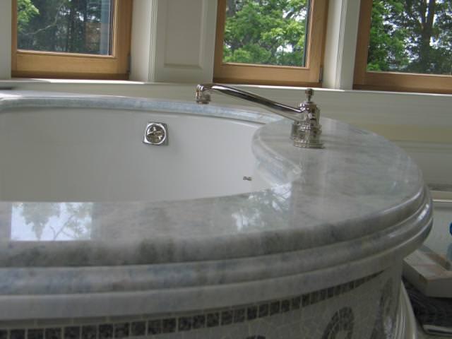 ванна из мрамора Celeste-Blue