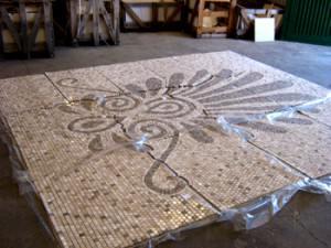 мозаика из Travertine