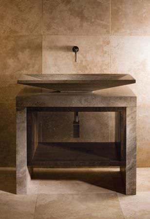 Мраморный туалетный столик Lastra