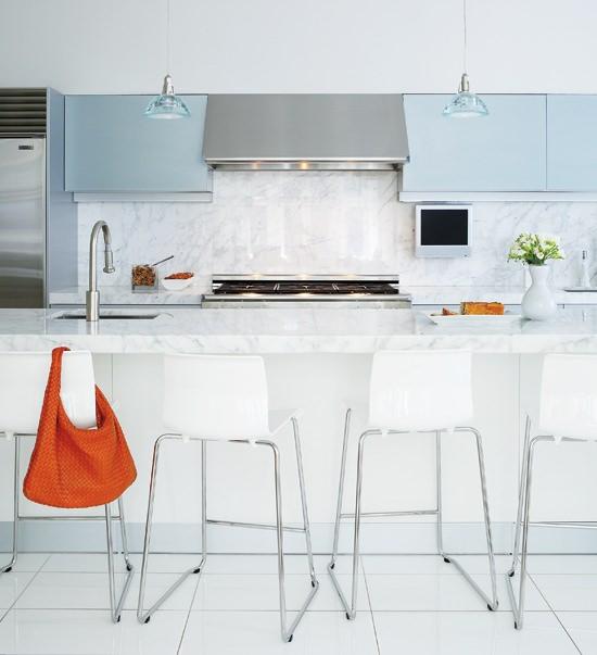 Кухонная столешница из мрамора Carrara