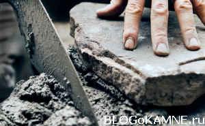 Каменная укладка стен