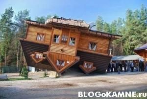 Забавный проект дома из камня