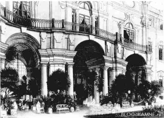 террасы Стрельнинского дворца