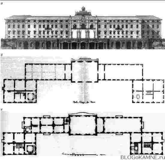 Константиновский дворец. Проект Русака
