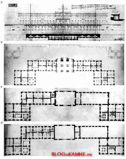 Константиновский дворец. Проект А. И. Штакеншнейдера