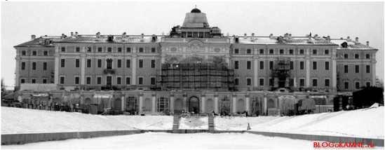 восстановление константиновского дворца