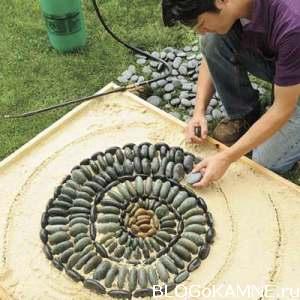 выложить мозаичное панно