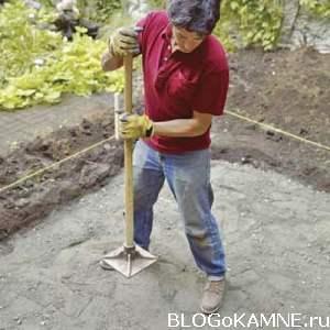 строим внутренний дворик