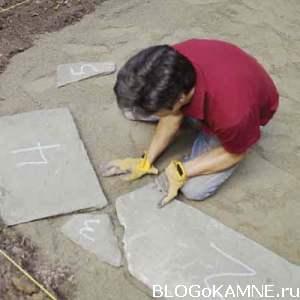 камни для внутреннего дворика