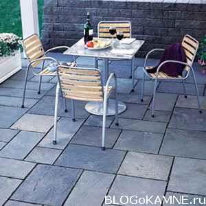блог о камне. Патио для дачи