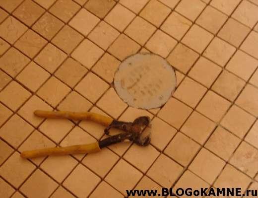 как колоть мозаику