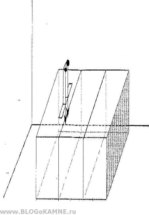 схема расположения алмазного каната