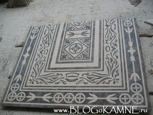 панно из флорентийской мозаики