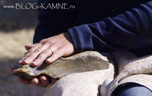 ручное каменное рубило