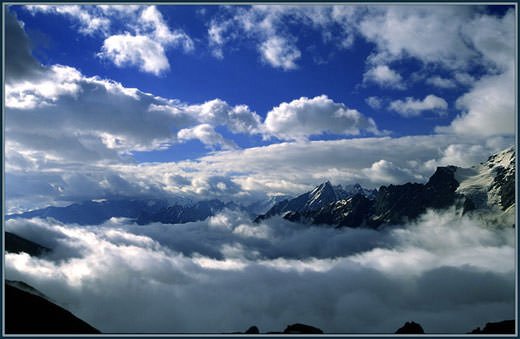 горные облака