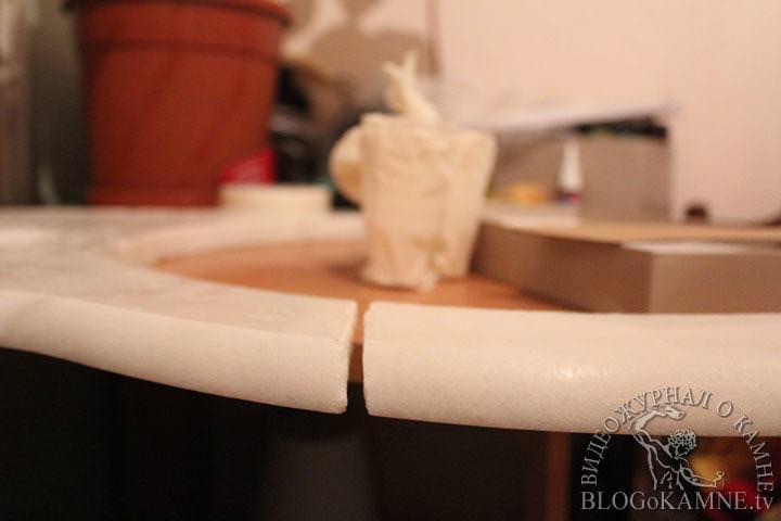 ремонт мраморной столешницы