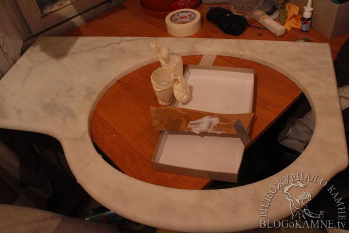 ремонт каменных изделий