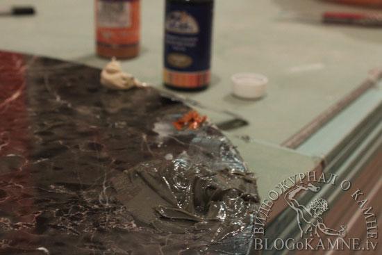 мастика для черного мрамора