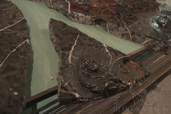 реставрация мраморной столешницы