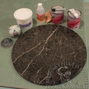 ремонт каменной столешницы