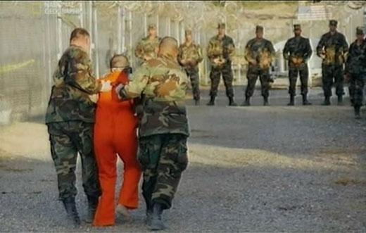 задержанный человек