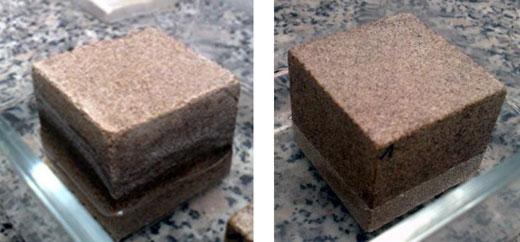 высолы на камне