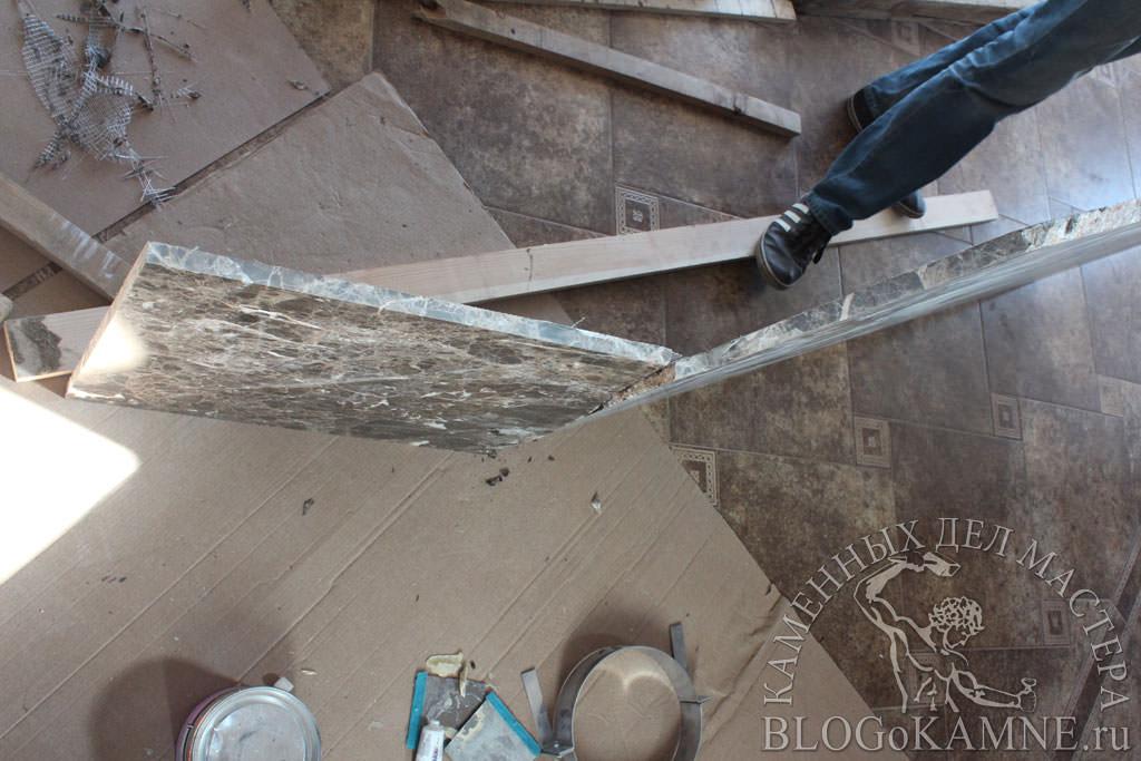 ремонт мрамора