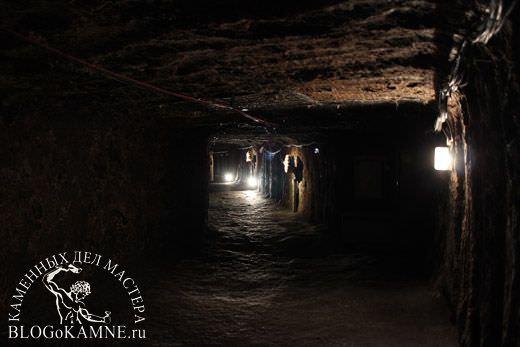 соляная пещера в гальштадте