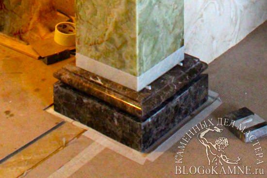 колонна из мрамора имперадор