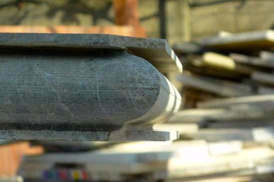 обработка кромки мрамора
