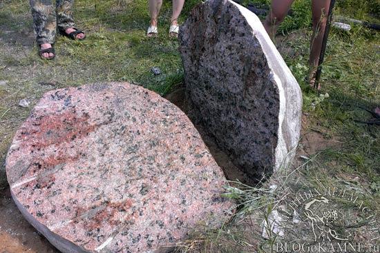Как расколоть камень булыжник