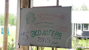 эколагерь на чудском озере